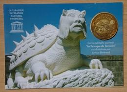 Médaille Touristique La TARASQUE DE TARASCON  2011 Avec Encart - 2011