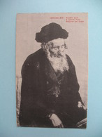 Carte Jérusalem -  Rabin Juif - A Jewish Rabi - Israele