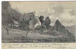 CPA -   Chateau Quarreux - Erholungsheim - Allemande Feldpost  Lüttich  1915 - Zonder Classificatie
