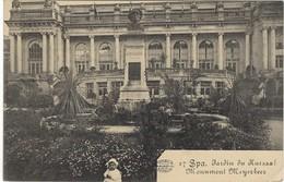 CPA -   Spa - Jardin Du Kursaal - Enfants - Allemande Feldpost  1915 - Belgique