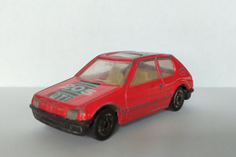 """Miniature """"3 Inches"""" 1/64 MC Toy - Peugeot 205 GTi Rouge - HotWheels"""