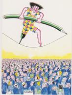 ROLANDAEL  - Salon St Just Le Martel Dessinateur Presse Clown Equilibriste Unijambiste - CPM 10,5x15 TBE 1988 Neuve - Illustratori & Fotografie