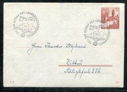 "D.Bes.39/45-Generalgouvernement / 1943 / Ganzsachenumschlag Mi. U 2 SSt. Krakau ""Tag Der NSDAP"" (19359) - Occupation 1938-45"