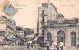 ¤¤   -   SAINT-CLOUD   -  La Gare De L'Ouest    -   Marché     -  ¤¤ - Saint Cloud