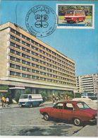 TRANSPORTS, SHIP, MAXIMUM CARD, 1978, ROMANIA - Bussen