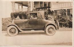 Photo Automobile Avec Femme Au Volant à Identifier Début Des Année 1900 - Cars