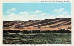 SAND DUNES SAN LUIS VALLEY - COLORADO - Etats-Unis