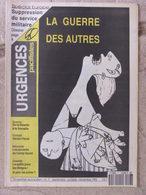 Revue Urgences Pacifistes N°7 (sept-oct-nov 1992) Suppression Service Militaire - Accords Camp-David - Bosnie - Politik