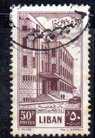 APR1872 - LIBANO 1953 , Yvert N. 96  Usato (2380A) - Libano