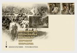 Bosnië-Herzegovina / Bosnia - Postfris/MNH - Complete Set FDC 100 Jaar Verdrag Van Versailles 2019 - Bosnië En Herzegovina