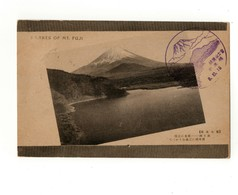Cartolina Lakes Of Mt, Fuji - Timbro Di Manifestazione Italiano E Timbro Monte Fuji 8 10 1916 - Altri