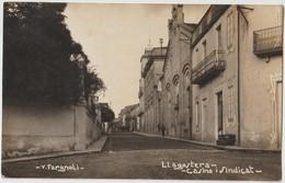 LLAGOSTERA - Carte Photo. Casino - Sindicat. - Gerona