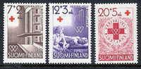 FINLAND 1951 Red Cross Set MNH / **.  Michel 392-94 - Neufs