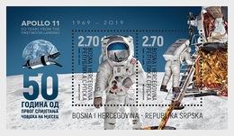 Bosnië-Herzegovina / Bosnia - Postfris/MNH - 50 Jaar Eerste Maanlanding 2019 - Bosnië En Herzegovina