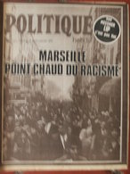 Revue Politique Hebdo N°111 (17/23 Janv 1974) Lip - Marseille Point Chaud Du Racisme - Politik