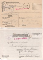 Correspondance Adressee Par Prisonier De Guerre Au Stalag  Par Baron-sur-Odon /Calvados, 2 X - WW II