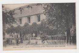 MF514 - Viaduc Du VIAUR  - Vue De L'Hôtel Et Aperçu Du Parc - Pension Pour Séjour - Animée - Other Municipalities