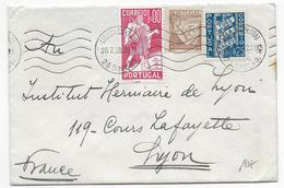 PORTUGAL - 1938 - ENVELOPPE De LISBOA => LYON - 1910-... République