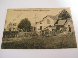 C.P.A.- Tharon Plage (44) - Groupe De Châlets Vers La Côte - 1922 - SUP (CA 57) - Tharon-Plage