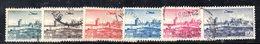 APR1876 - LIBANO 1951 , Posta Aerea Serie Yvert N. 66/71  Usata (2380A) - Libano