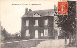 76-SAINT-PAER- MAIRIE ET ECOLE DE GARCONS - France