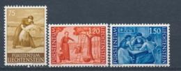 Liechtenstein 1960 Mi: 395-397 Yt: 347A-349A (PF/MNH/Neuf Sans Ch/**)(4566) - Liechtenstein