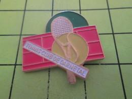 1015a Pins Pin's / Rare & Belle Qualité THEME SPORTS / TENNIS CLUB DE DARNETAL - Tennis