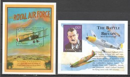 V742 GAMBIA TRANSPORT WAR WWII MILITARY AVIATION THE BATTLE OF BRITAIN THE ROYAL AIR FORCE 2BL MNH - WO2