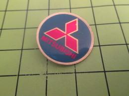 1015b Pins Pin's / Rare & Belle Qualité THEME AUTOMOBILES / LOGO DE LA MARQUE MITSUBISHI - Mitsubishi