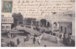 Tunisie -  LA GOULETTE - Le Pont - 1908 - Tunisie