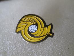 PIN'S   SOCCER  Football  SEATTLE  STORM - Football
