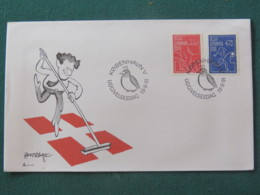 Denmark 1991 FDC Cover - Cleaning Dog Poop - Garbage - Bird - Danimarca