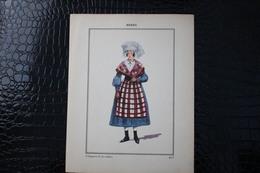 DH / For-18x23,5 Cm.Costumes Régionaux Par P. L. De GIAFFERRI -  [36] Indre -Vilolageoisede  La Chatre - Costumes