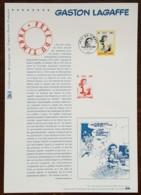 COLLECTION HISTORIQUE - YT N°3370 - FETE DU TMBRE / GASTON LAGAFFE - 2001 - 2000-2009