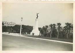 180719D - PHOTO 1935 - 06 NICE Square Albert Ier Monument De La Ville De Nice à La France - Squares