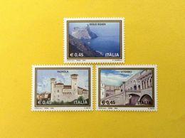 2004 ITALIA FRANCOBOLLI NUOVI STAMPS NEW MNH** TURISTICA ISOLE EGADI VIGNOLA VITERBO - 1946-.. République