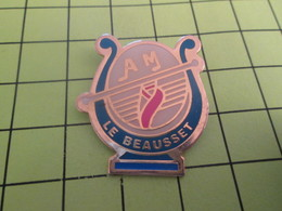 1118a Pins Pin's / Rare & Belle Qualité THEME MUSIQUE / FANFARE HARMONIE LE BEAUSSET - Music