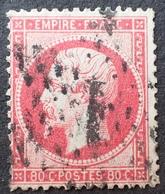 R1568/56 - NAPOLEON III N°24 - ETOILE N°1 De PARIS - 1862 Napoleon III