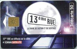 Catégorie Communication - 13ème Rue (Chaîne Action Et Suspense) (Recto-Verso) - France