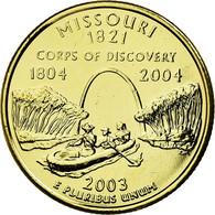 Monnaie, États-Unis, Missouri, Quarter, 2003, Golden, SUP, Copper-nickel - 1999-2009: State Quarters