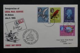 SAINTE HÉLÈNE - Enveloppe FDC En 1965 - L 35178 - Sainte-Hélène