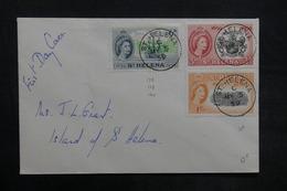 SAINTE HÉLÈNE - Enveloppe De Ste Héléna En 1959, Affranchissement Plaisant - L 35179 - Sainte-Hélène