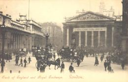 LONDON   Bank Of England And Royal Exchange  Around 1910 - Other