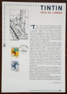 COLLECTION HISTORIQUE - YT N°3303 - FETE DU TIMBRE / TINTIN - 2000 - 2000-2009