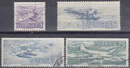 SUECIA 1972 Nº 740/43 USADO - Gebraucht