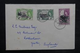 SAINTE HÉLÈNE - Enveloppe De Ste Héléna En 1960 Pour Le Royaume Uni, Affranchissement Plaisant - L 35183 - Sainte-Hélène