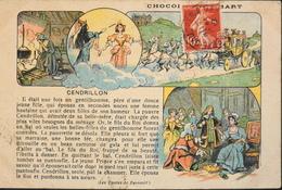 CPA. - Contes, Fables & Légendes > Editée Par Le Chocolat LOMBART - Cendrillon De Ch. PERRAULT Daté 1912 - BE - Fairy Tales, Popular Stories & Legends