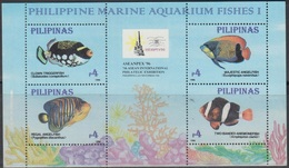 1996Philippines2658-2661/B94 ISea Fauna - Poissons