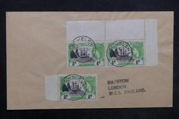 SAINTE HÉLÈNE - Enveloppe De Ste Héléna Pour Londres En 1958 , Affranchissement Plaisant - L 35186 - Sainte-Hélène