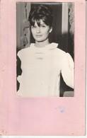 Photo 1964 Danielle Domenge Comédienne Et Mannequin De Monte Carlo  Avec Fiche Signalitique - Photographs